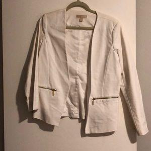 Creamy white Michael Kors blazer